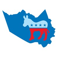 Harris County Young Democrats logo
